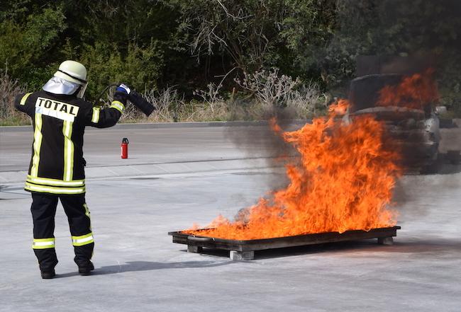 Feuer und Flamme – Brandschutzerziehung