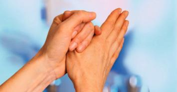 Die hygienische Händedesinfektion